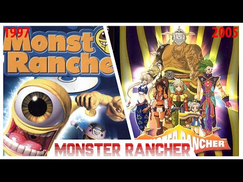 Monster Rancher Evolution Playstation Series 1997 - 2005 (PS1, PS2)