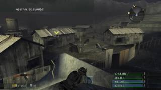 Socom Combined Assault Mission 13 - Chokehold - HD Gameplay - PCSX2