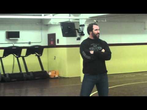 Vikings DE Jared Allen Visits the Minnesota Wrestling Team