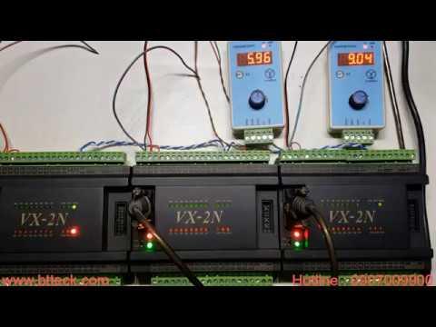 Truyền thông Modbus RTU với PLC-VX2N (Master/Slave)