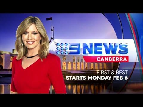 Nine News Canberra - 15 Second Promo (January 2017)