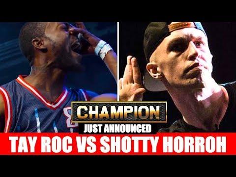 Tay Roc Vs  Shotty Horroh Announced for Premier Battles