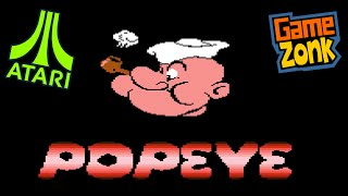 Popeye Arcade - Atari 5200 Homebrew Enhacements