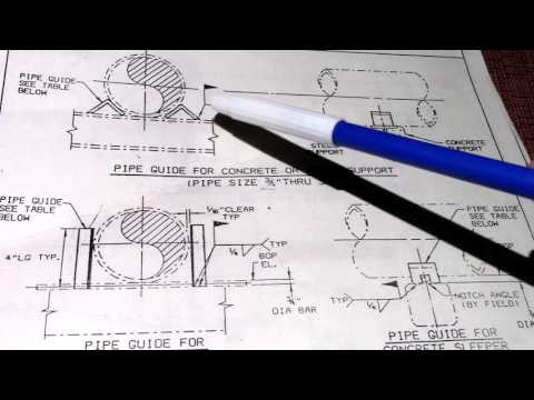 Pipefitter Pipe Support Drawing Design Data Piping Notes