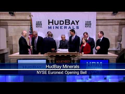 5 November 2010 HudBay NYSE Opening Bell