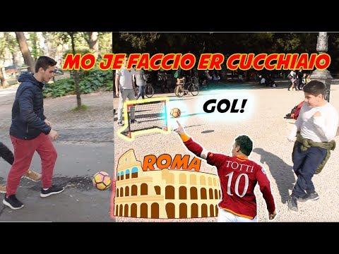 Gli ITALIANI a Roma Sanno Calciare Un Pallone ? ● Interviste Ignoranti