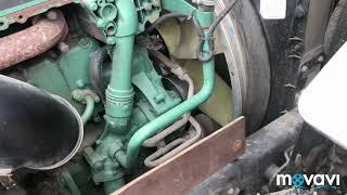 Как снять ремни и ролики натяжители Volvo FH, двигатель D13A400 (ремень генератора,ролик натяжитель)