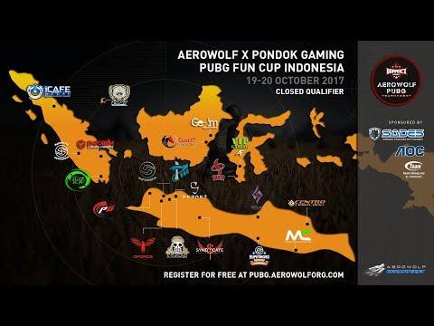 Aerowolf x Pondok Gaming PUBG Fun Cup - Closed Qualifier Day 2