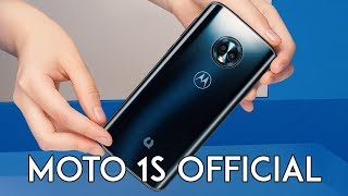 Moto 1s Official - A G6 Version with ZUI & Better Camera!