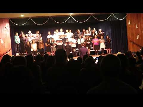 Alvarado intermediate school 2017 winter concert choir
