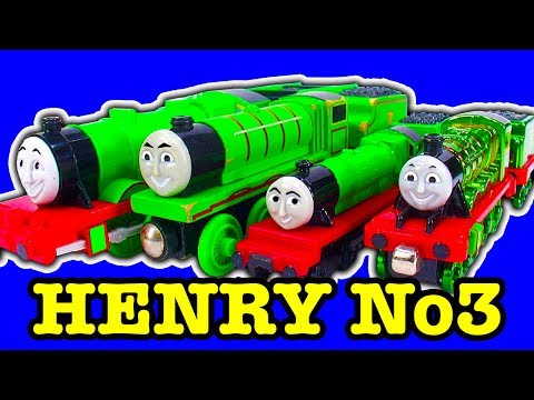 Thomas & Friends Henry Toy Train Collection Mysterious No3 Engine