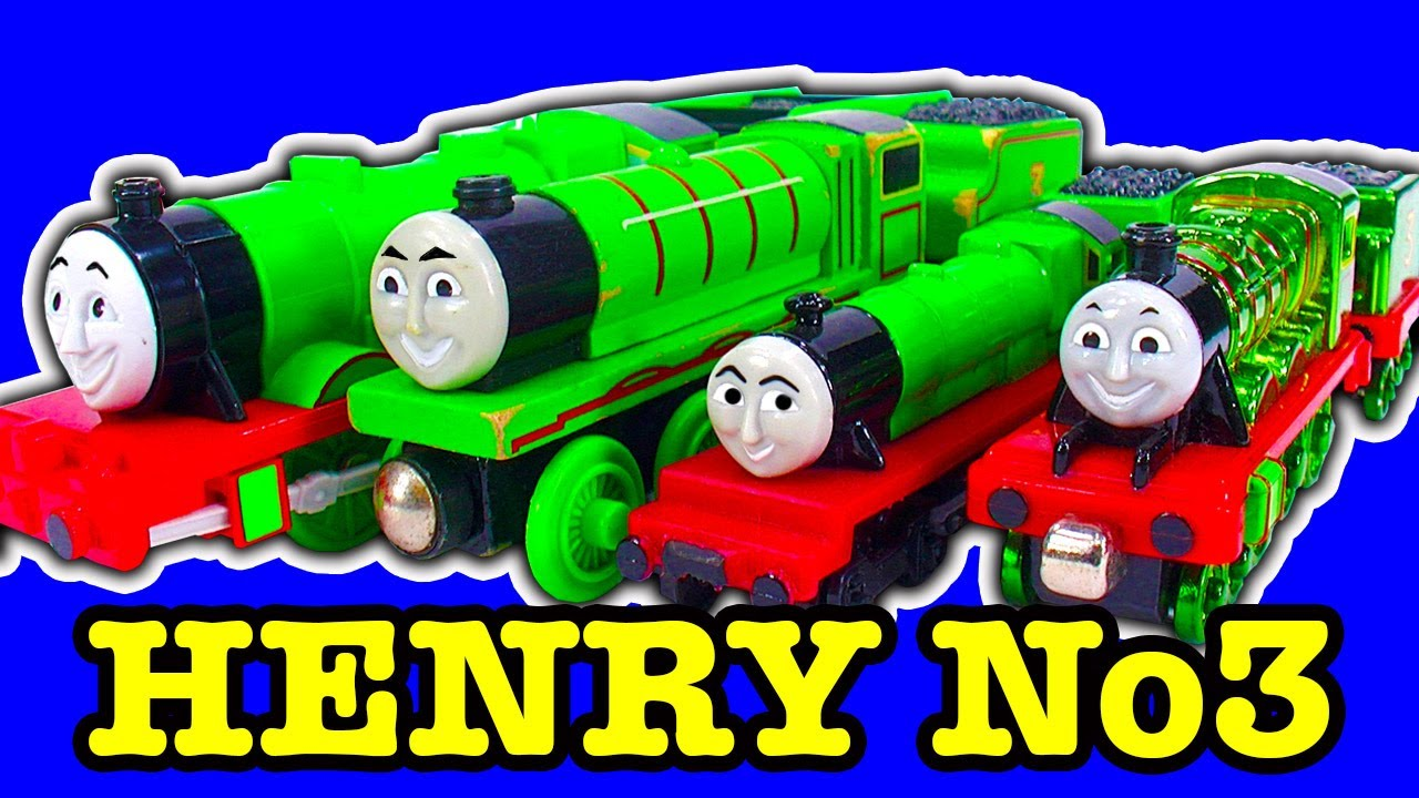 Thomas Friends Henry Toy Train Collection Mysterious No3 Engine