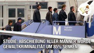 Studie: Abschiebung aller Männer würde Gewaltkriminalität um 85% senken