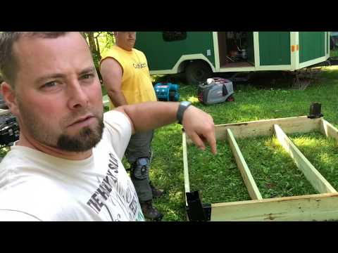 #89 DIY Elevated Deer Blind Simple Strong Cheap