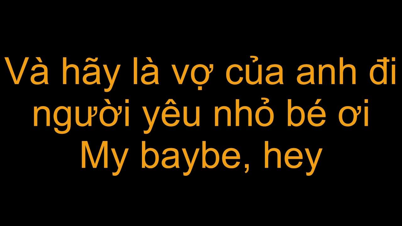 Wendy Thảo –  Làm người yêu em nhé baby – Lyrics