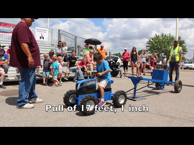2018 Kids' Pedal Pull
