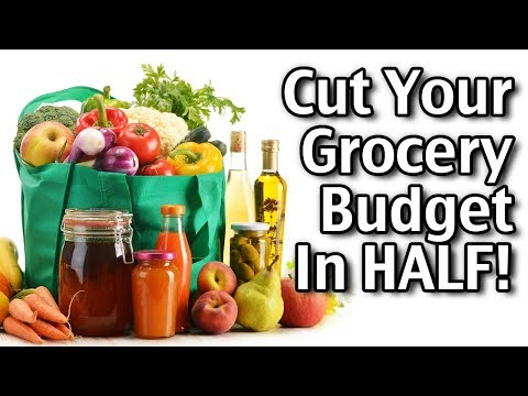 Cut Your Grocery Budget in HALF! Easy Tips And Ideas!