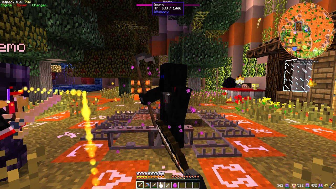 Killing Death the easy way - Minecraft FTB (Witchery Mod ...