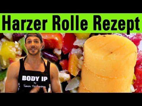 Rezepte für den Muskelaufbau - Harzer Rolle Salat