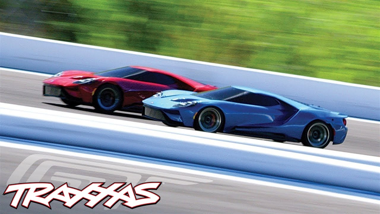 2017 Ford GT Track Session | Traxxas 4-Tec 2.0