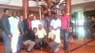 EXECUTIVE OF NATIONAL ASSOCIATION OF NIGERIAN STUDENTS IN ASIA WITH AMBASSADOR OF NIGERIA SINGAPORE