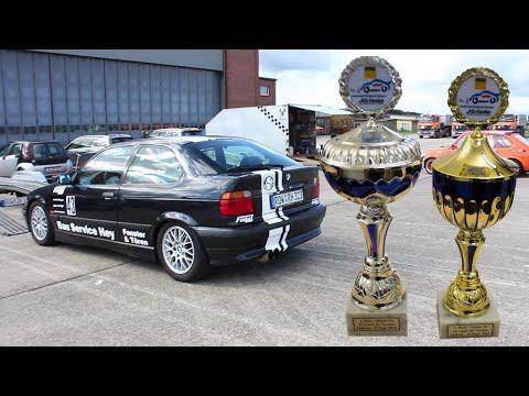 13./14. AC Verden Automobil-Clubsport-Slalom - Alexander Brase #9 BMW 323ti Onboard