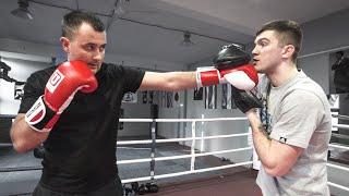 Как научиться бить с нуля / Первая тренировка по боксу