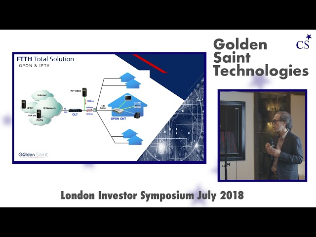 Investor Symposium London: Golden Saint Technology
