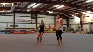 Gymnastics Floor Routine Choreography: Africa