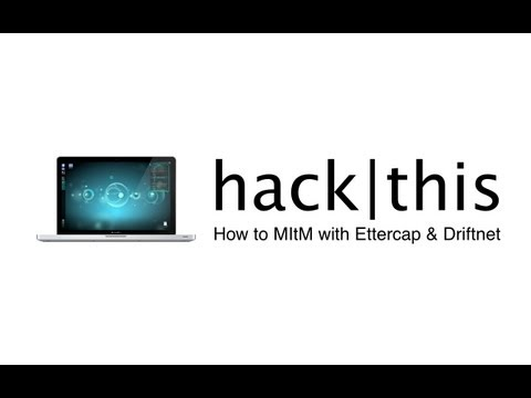 How To: Man In the Middle Attack (Ettercap & Driftnet) - Kali Linux