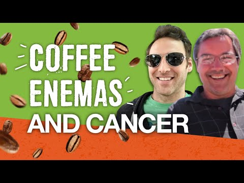 Dr. Patrick Vickers explains coffee enemas for healing cancer to Chris Wark of Chris Beat Cancer