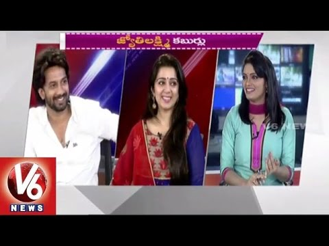 Jyothi Lakshmi Movie team in Special Chit Chat - Charmme Kaur l Sathya (09-06-2015)