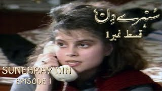Download Sunehray Din | Episode 1 | Classic TV Serial | Saleem Sheikh | Faraz Inam MP3 song and Music Video
