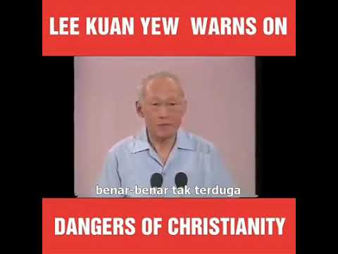 A fragrance from death to death: Lee Kuan Yew
