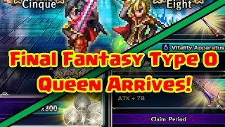 Final Fantasy Brave Exvius - Final Fantasy Type 0 Part 2 News Update!