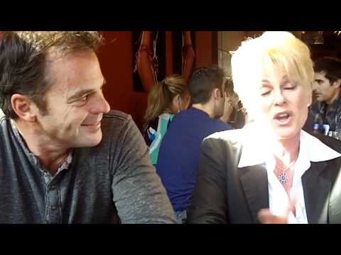 DAYS OF OUR LIVES Wally Kurth and Judi Evans at DAY OF DAYS