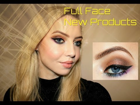 Full Face Using New Products 😲 | Fenty Beauty, Urban Decay, Tanya Burr Cosmetics