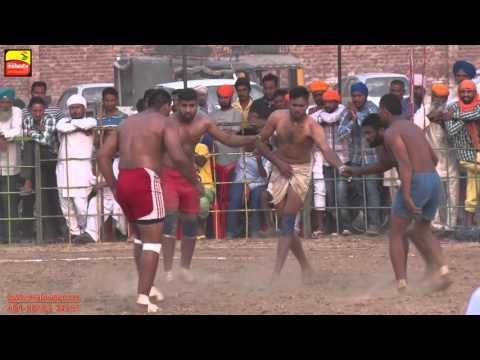 KHALRA (Amritsar)    KABADDI CUP - 2015    SEMI FINALS    Full HD    Part 4th.