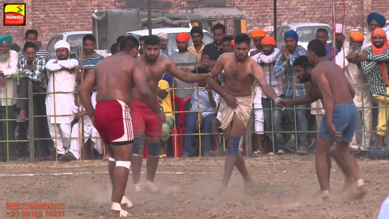 KHALRA (Amritsar) || KABADDI CUP - 2015 || SEMI FINALS || Full HD || Part 4th.