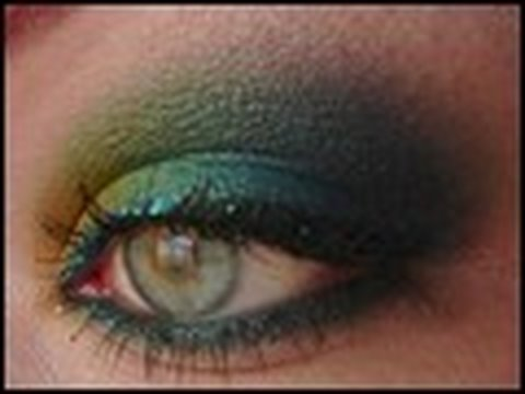 makeup tutorial caribbean green smokey eyes magimania schminkanleitung youtube. Black Bedroom Furniture Sets. Home Design Ideas