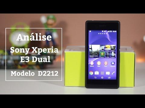 Análise Sony Xperia E3 Dual (D2212)