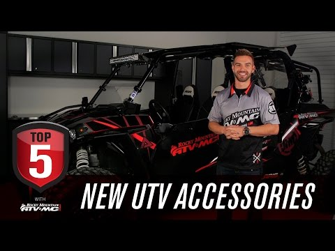 Top 5 Accessories for A New UTV