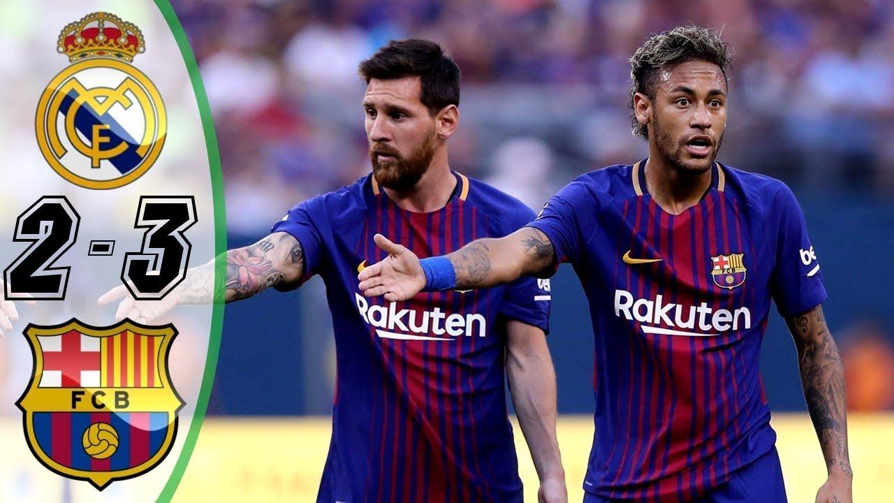 Барселона реал мадрид 6 2 онлайнi