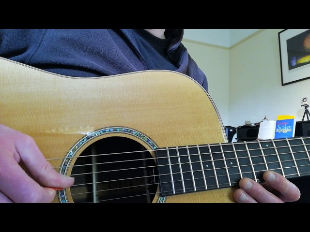 Pentatonic Scale, two positions, connecting them together. | Example video