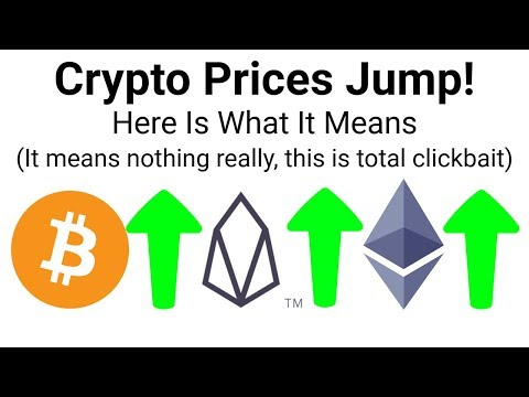 Clickbait titles for cryptocurrency