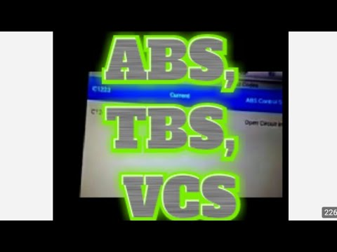 Toyota Land Cruiser 2017 >> ABS, VSC, Track Off. Code C1223, Code C1249. Lexus RX330 ...