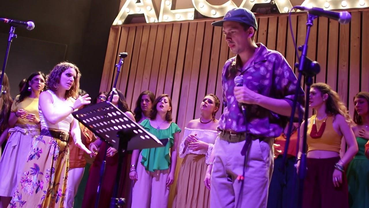 Flowing Chords ft. AINÈ - Hide and seek (Imogen Heap) live @Alcazar