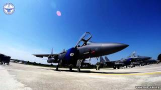 Exercise INIOHOS 2016 - Parked F-15E