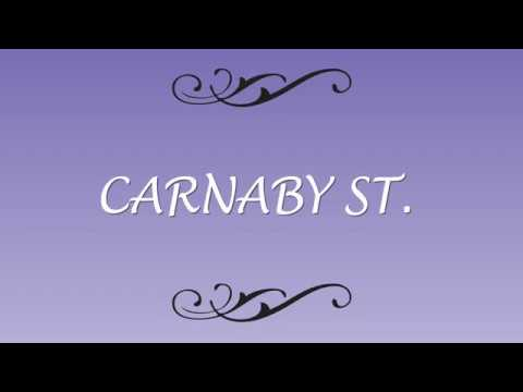 Second Saturday with  Carnaby St