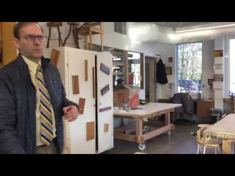 Belmont Day School headmaster gives tour of new barn building